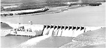 1963 - Cowans Ford Dam is complete.