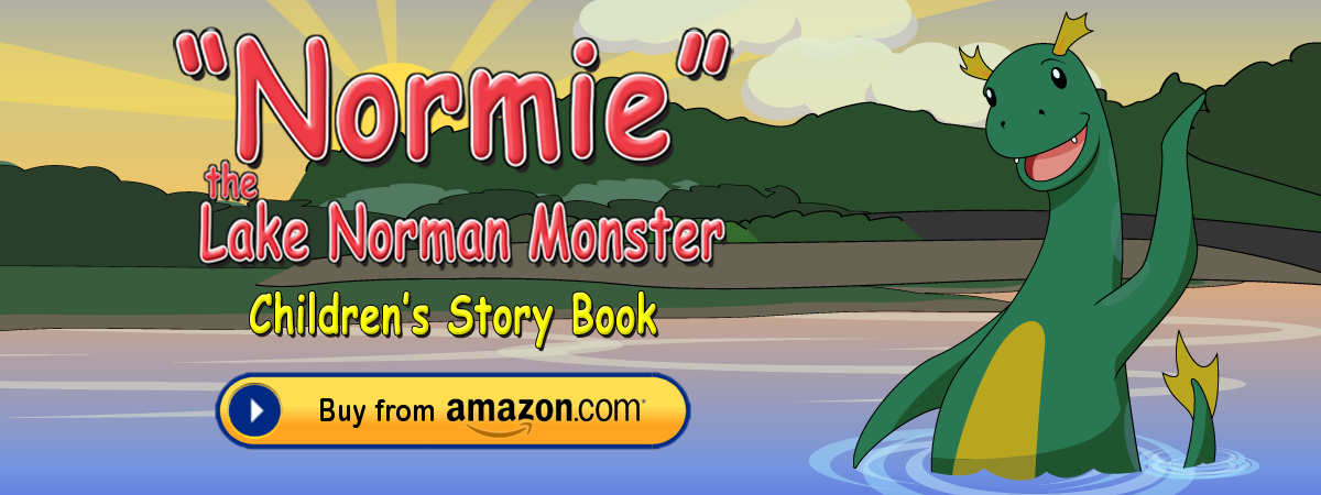 Normie the Lake Norman Monster - Children's Story Book