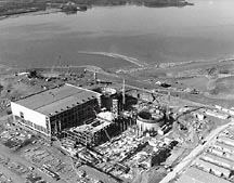 1974 - McGuire Nuclear Station is well underway.